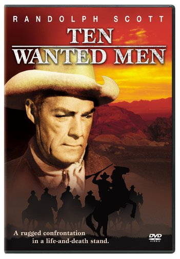 TEN WANTED MEN BY SCOTT,RANDOLPH (DVD)
